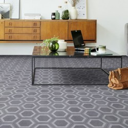 Honeycomb Grey Tile