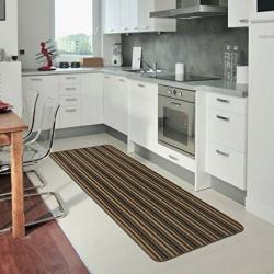 """Ios"" Striped Rugs (1800mm x 670mm) (Chocolate Stripe)"