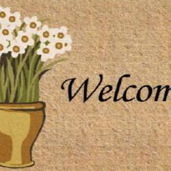 Kentwell Floral Welcome Mat