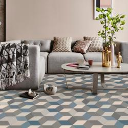 Patterned Vinyl Flooring Stylish And Contemporary Vinyl From - Grey patterned vinyl floor tiles