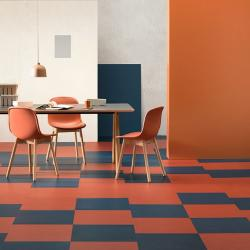 Marmoleum Modular - Tiles 50cm x 50cm (Berlin Red)