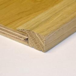 Solid Oak 15mm L-Section (1.175m Long)