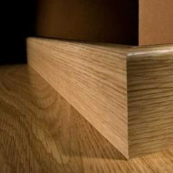 Solid Oak Skirting - Lacquered 2.35m Long