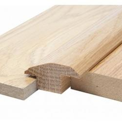 Solid Oak Carpet & Tile Reducer 15mm (1.175m Long)