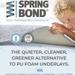 Spring Bond 11mm Luxury Eco Engineered Underlay