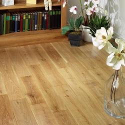 Virginia Oak Rustic Matt Lacquered 125mm