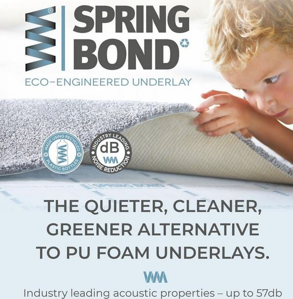 33 Off Spring Bond 11mm Eco Underlay 100 Recycled